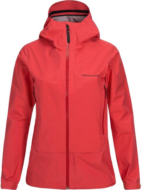 Peak Performance W's Northern Jacket Pink Flow
